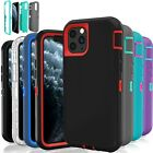 For Apple iPhone 11 / 11 Pro Hybrid Case Protective Defender Shockproof Cover