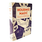 1st Edition 1932 HOUDINI'S MAGIC Signed & Inscribed by WALTER B GIBSON RARE