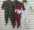 Infant, Toddler  Boys 20 Carter's Assorted Fleece Sleepers Sizes 12M - 7