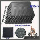 24-480 SQ FT INTERLOCKING EVA FOAM FLOOR PUZZLE WORK GYM MATS PUZZLE OUTDOOR NEW