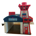 Thomas and friends wooden railway Lights and Sounds Helcopter Hanger and Control