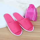 Unisex Winter Plush Shoes Solid Slippers Flat Non-slip Cotton Warm House
