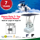 Heavy Duty Premium Boat T-Top For Center Console Aluminum Tube & White Coated