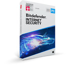 Bitdefender Internet Security 2020 ESD 1, 3, 5 or 10 Device 1, 2 or 3 Years