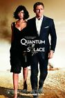 QUANTUM OF SOLACE Movie Art Silk Poster 12x18 24x36 $5.56 CAD on eBay