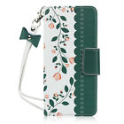 Flower Print Wallet Flip Shockproof Case Cover For Sony Xperia XZs