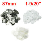 37mm Blank Metal/ABS Pin Badge Button Supplies for Badge Maker Machine