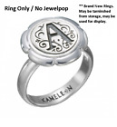 -NEW- Authentic Kameleon KR022 Flower Cup Ring  Sterling Silver 6,8 image