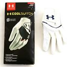 Under Armour CoolSwitch White Golf Glove 1 Left Hand Glove Women's Size Small