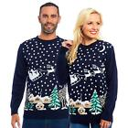 Unisex Mens Womens Christmas Xmas Jumper Sweater Knitted Retro Jumpers Ugly