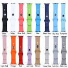 38/42mm Replacement Strap Soft Silicone Sport Wrist Band For iWatch 1/2/3 Series image