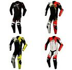 Alpinestars GP Plus V2 Leather 1 Piece Suit BLACK WHITE YELLOW