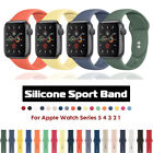 Silicone Sports iWatch Band Strap for Apple Watch 40/44mm 38/42mm Series 5 4 3 2 image
