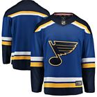 Men's St. Louis Blues Fanatics Jersey $39.99 USD on eBay