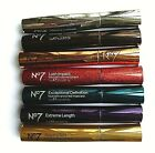 No7 MASCARA NEW BROWN/BLACK 7ml- VARIOUS SELECTIONS PLEASE USE DROP DOWN MENU