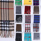 Kyпить 100% CASHMERE Plaid Scarves Warm Solid Plain Winter Check Scarf на еВаy.соm