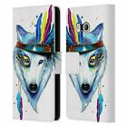 OFFICIAL PIXIE COLD ANIMALS LEATHER BOOK CASE FOR HTC PHONES 1