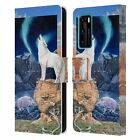 OFFICIAL GRAEME STEVENSON WILDLIFE LEATHER BOOK CASE FOR HUAWEI PHONES