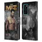 OFFICIAL WWE THE MIZ LEATHER BOOK CASE FOR HUAWEI PHONES