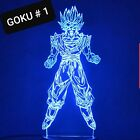 Dragon Ball Z Lamp three different models perfect for gift or Kids Night Lights