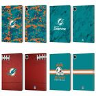 OFFICIAL NFL 2018/19 MIAMI DOLPHINS LEATHER BOOK CASE FOR APPLE iPAD $15.95 USD on eBay