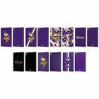 OFFICIAL NFL MINNESOTA VIKINGS LOGO LEATHER BOOK CASE FOR APPLE iPAD $26.95 USD on eBay
