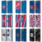 NBA DETROIT PISTONS LEATHER BOOK WALLET CASE COVER FOR APPLE iPHONE PHONES on eBay