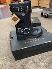 Harkey-Davidson Womens Derringer Riding Boot Black Size 6.5