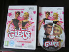 NINTENDO Wii GAME GREASE THE OFFICIAL VIDEO GAME LOT 2