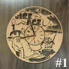 ICE AGE Wall Clock MODERN Wall Art Silent Wooden Clock Unique Clock for Kids