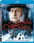 A Christmas Carol George C. Scott PG Blu-ray 100 minutes Kids and  Family NEW