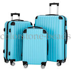 3 Piece Travel Luggage Set Hardshell Lightweight Spinner Suitcase  20