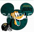 Disney Jacksonville Jaguars personalized iron on transfer (choice of 1) $3.0 USD on eBay