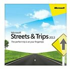 Streets and Trips 2013 Navigation Software For 5 Pc's