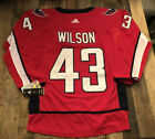 #43 Tom Wilson Washington Capitals Jersey $75.0 USD on eBay