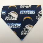 San Diego Chargers Dog Collar Cover Bandanna Scarf Non Choking Size Large $7.99 USD on eBay