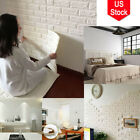 3d Imitation Brick Marble Wall Pattern Looks Real Up White Wallpaper Home Decor