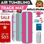 "10/13/16/20FT 8""Thick Air Track Tumbling Inflatable Mat Gymnastic Yoga Fitness image"
