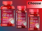 Puritan's Pride Q-SORB CO Q-10 100mg 200mg 30 60 240 Softgels heart health NEW! $18.99 USD on eBay