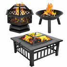 Mul Size Portable Courtyard Backyard Iron Metal Fire Bowl Wood Burning Fire Pit