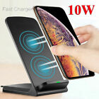 10W Qi Wireless Charger Fast Charging Dock Stand For iPhone 11 Pro Max 8 XS XR X