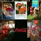 Coca-Cola Father Christmas Santa Advert Vintage Poster Print | A4 A3 A2 A1 | £4.99  on eBay