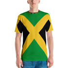 Jamaica Jamaican Flag Out of Many One People Symbol Vacation Men's Men's T-shirt