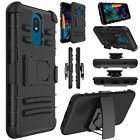 For LG Journey LTE Phone Case Shockproof Holster Clip Stand Rugged Bumpers Cover