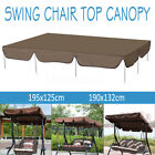 Waterproof Outdoor Swing Top Cover Canopy Replacement Porch Patio 2