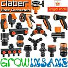 Claber Garden Hose Fittings Click Fit - Compatible With Hozelock, Gardena Others
