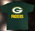 Green Bay Packers T-Shirt Graphic Cotton Logo GB Adult Men $11.99 USD on eBay