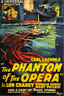 Phantom of the Opera Vintage Horror Movie Poster $7.99 USD on eBay