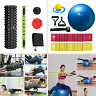 Foam Roller Set Yoga Ball Kit Fitness Muscle Therapy Sports Resistance Exercise image