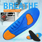 1 Pair Gel Orthotic Sport Running Insoles Insert Shoe Pad Arch Support Cushion-R